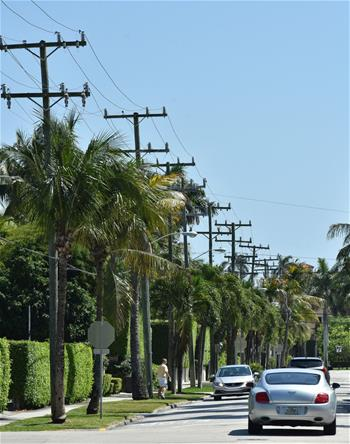 Lines In 2006 The Town Of Palm Beach Commissioned A Study Led Conversion Aerial To Underground Utilities Ysis By R W Beck Inc