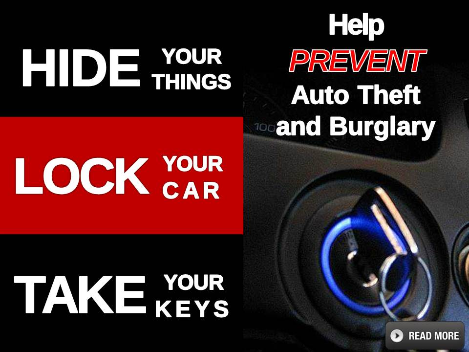 Auto Theft Prevention Slide