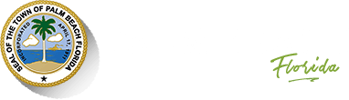 Logo of the Town of Palm Beach-Homepage