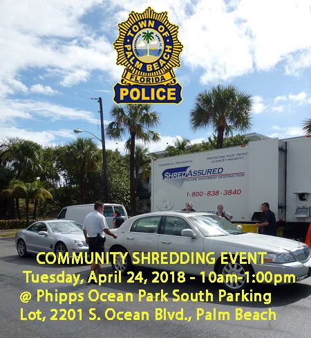 Shred Event 4-24-18