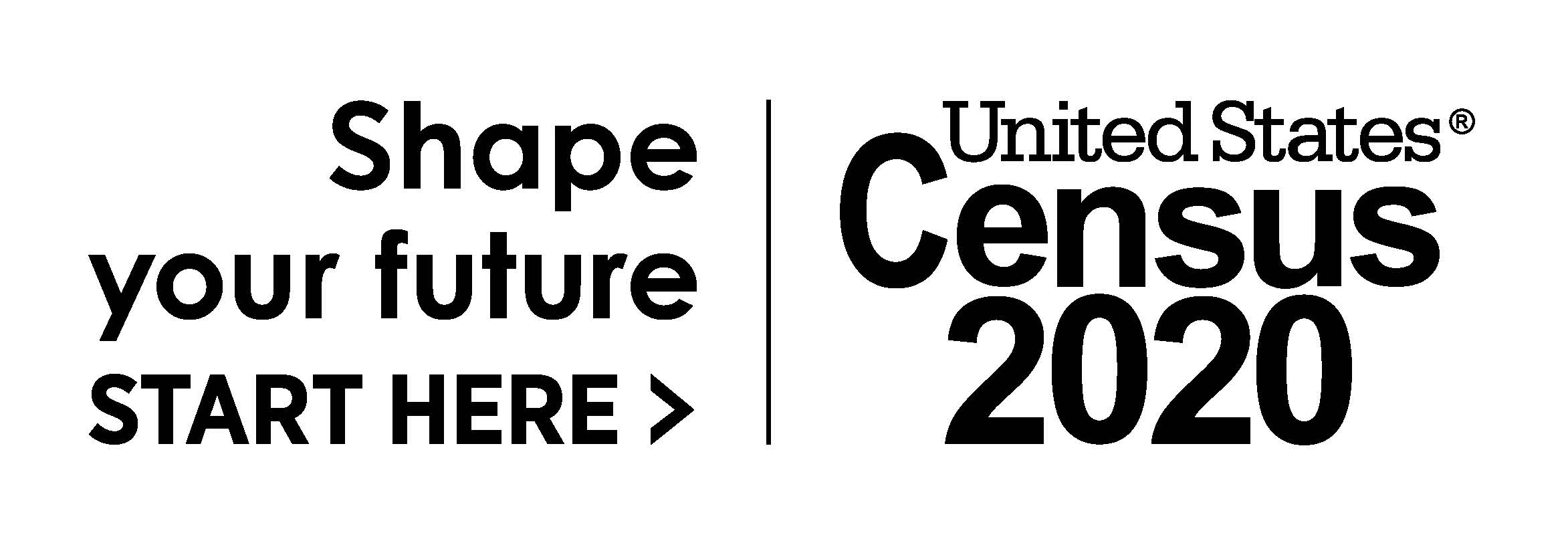 2020 Logo_Census_ Shape Your Future_Black_Limited Use
